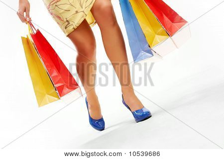 Durante as compras