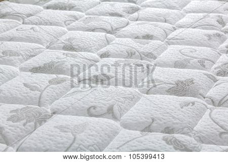Brand New Clean Mattress Cover Surface Texture