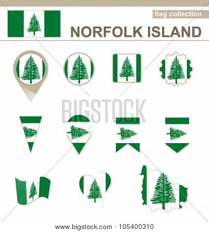 Norfolk Island Flag Collection