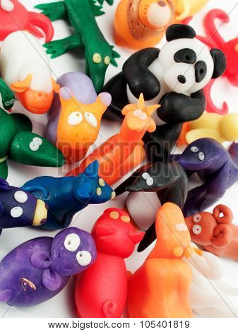 Small Clay Figurines