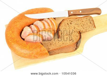 Sausage With Bread