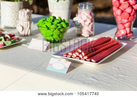 Sweet Table Decor.