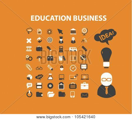 education business icons