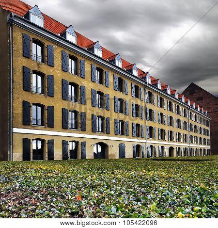 Larsens Plads In Copenhagen, Denmark.