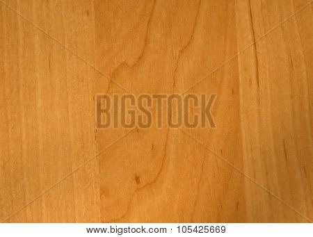 Smooth Wooden Plate With Alder, With Visible Grain.horizontal