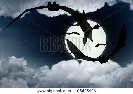 A Flock Of Bats