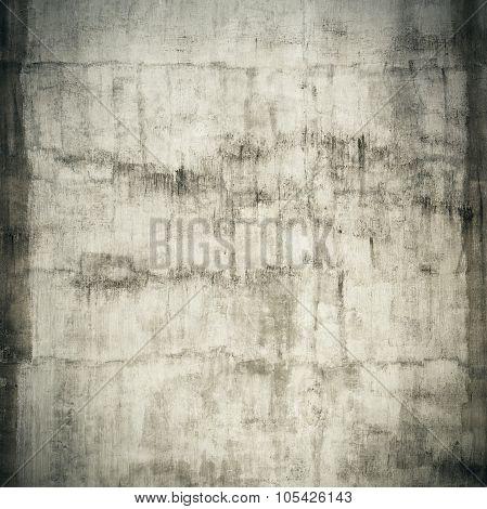 weathered grunge cracked white stucco wall
