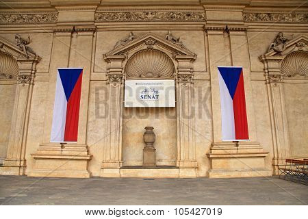 Czech Senate, Prague, Czech Republic.