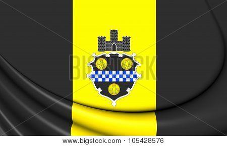 Flag Of Pittsburgh (pennsylvania), Usa.
