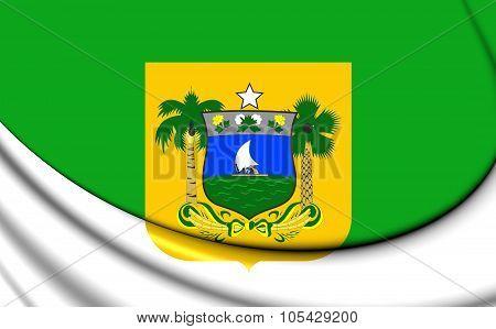 Flag Of Rio Grande Do Norte State, Brazil.
