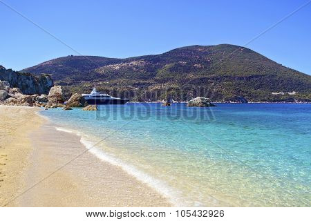 Afales Bay in Ithaca Greece