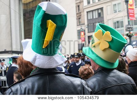 Saint Patricks Day Parade Hats