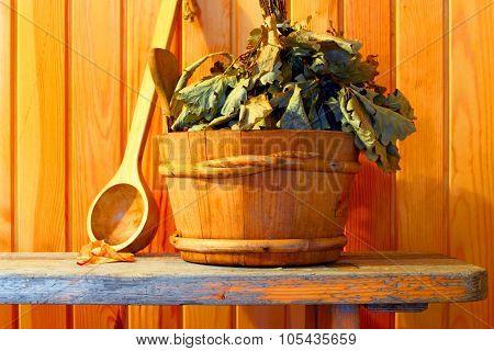 Sauna and Spa. Hygiene and health.