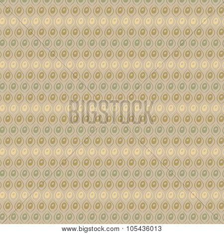 Vector Vintage Beige And Brown Geometric Pop Design As Wallpaper Background