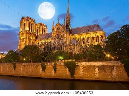 Notre Dame cathedral, Paris France