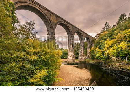Lambley Viaduct In South Tyne Valley
