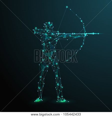 Abstract archer