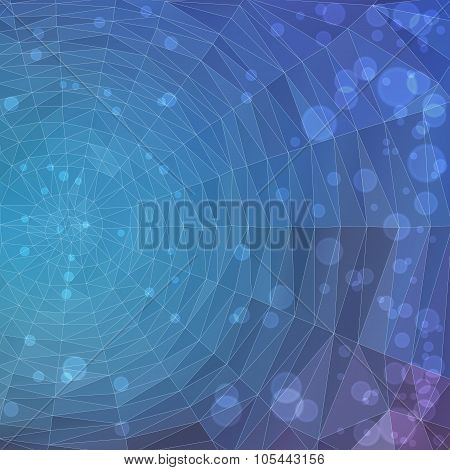 polygonal background spiderweb