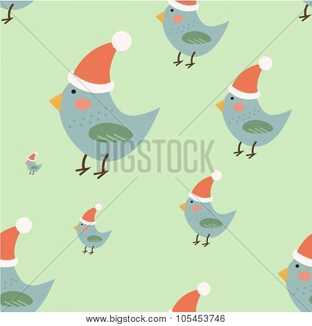 Christmas vector seamless pattern background icons set. Christmas background, Christmas seamless, Christmas bird, Christmas colors, Christmas vector. Christmas paper, Christmas Decoration, New Year