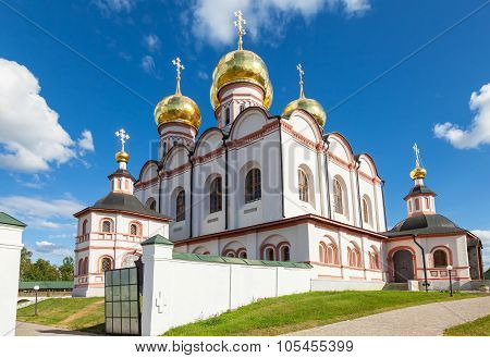 Cathedral Of The Assumption Of The Blessed Virgin Mary In The Iversky Monastery, Valday, Russia