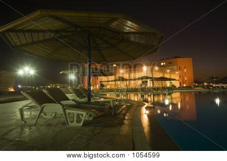 Night View On Hotel