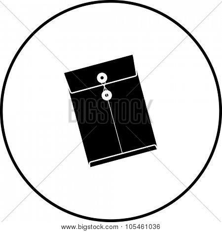 manila envelope symbol