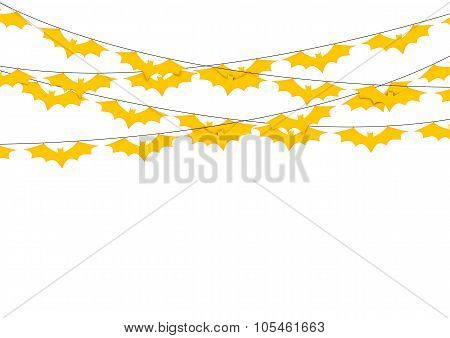 Halloween Garlands. Vector.