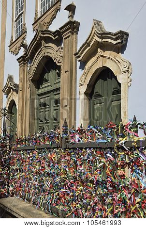 Traditional bracelets   Our Lord of Bonfim Church in Salvador Bahia