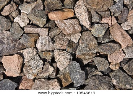 Abstract Background With Different Stones