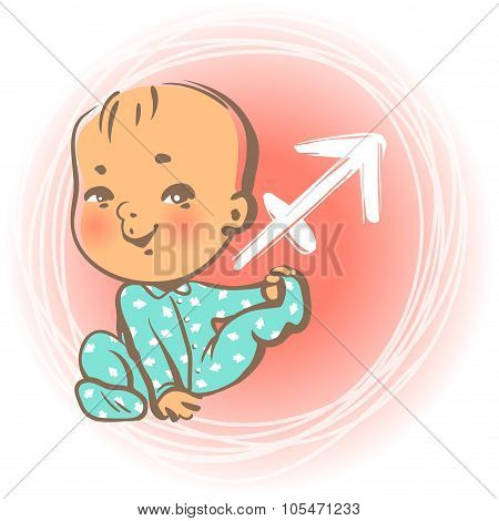 Baby zodiac Sagittarius