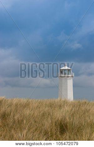 Lighthouse On Walney Island, Great Britain