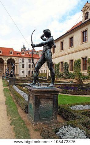 Statue In Waldstein Garden, Prague