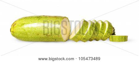 Sliced Fresh Courgette Single