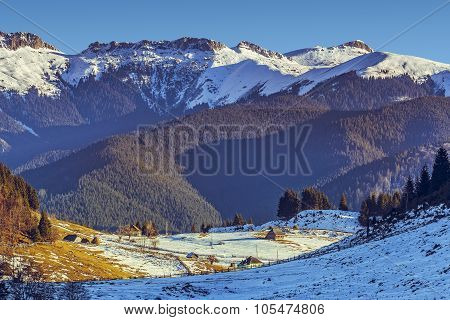 Bucegi Mountains, Fundata, Romania