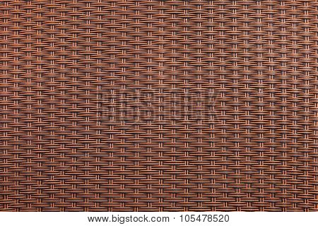 Brown rattan texture for background