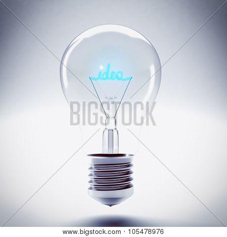 Idea bulb light