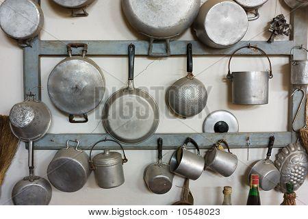 Equipos de cocina antiguos
