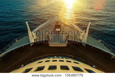 Cruise Ship Ocean Crossing