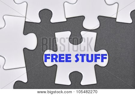 Jigsaw Puzzle Written Word Free Stuff