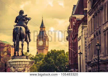 London Charles I Statue