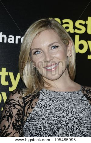 LOS ANGELES - OCT 19: June Diane Raphael at the Premiere of Nasty Baby at ArcLight Cinemas on October 19, 2015 in Los Angeles, California.