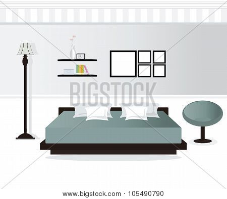Bedroom Interior Design.