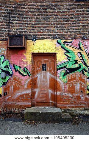 An Alley Door