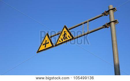 Crosswalk Road Sign