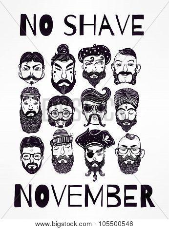 No Shave November set.