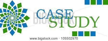 Case Study Green Blue Element Horizontal