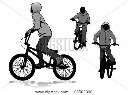 Boy On Bike