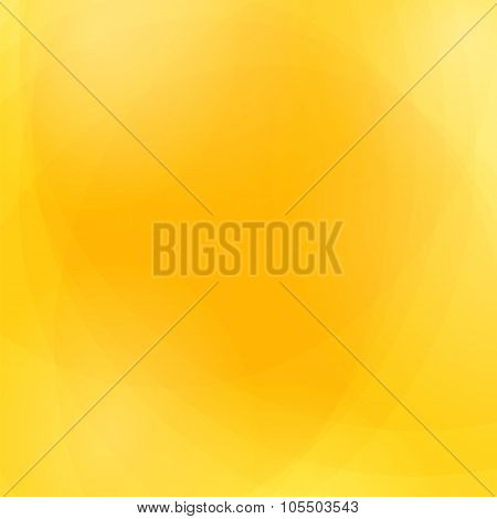 Abstract Yellow Wave Background