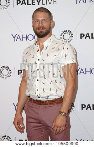 LOS ANGELES - OCT 19:  Matt Lauria at the An Evening with