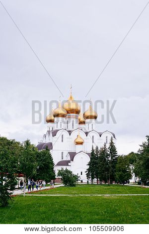 Assumption (uspensky) Cathedral In Yaroslavl. Golden Ring Of Russia